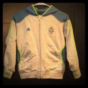 Girls Sounders FC hoodie